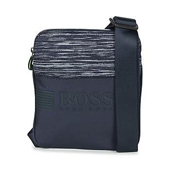 Tassen Heren Tasjes / Handtasjes Hugo Boss Green PIXEL K S ZIP Marine