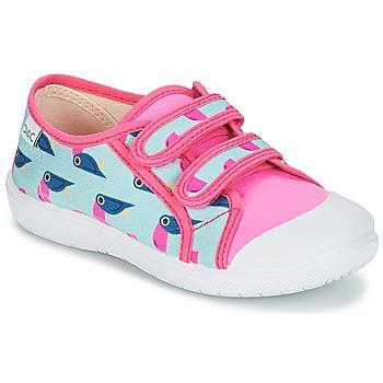 Schoenen Meisjes Lage sneakers Citrouille et Compagnie GLASSIA Multicolour