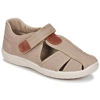 Schoenen Jongens Sandalen / Open schoenen Citrouille et Compagnie GUNCAL Beige