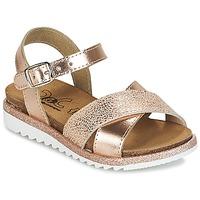 Schoenen Meisjes Sandalen / Open schoenen Citrouille et Compagnie GAUFRETTE Brons