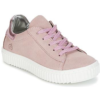 Schoenen Meisjes Lage sneakers Citrouille et Compagnie IPOGUIBA Roze