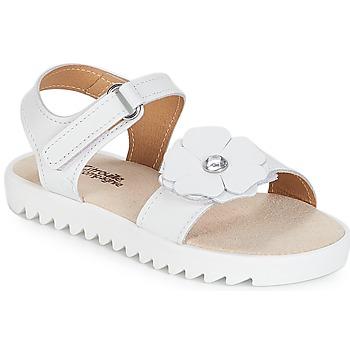 Schoenen Meisjes Sandalen / Open schoenen Citrouille et Compagnie ILODO Wit