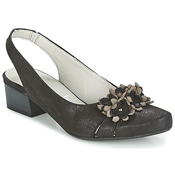 Schoenen Dames Sandalen / Open schoenen Dorking TUCAN Zwart