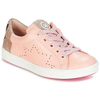 Schoenen Meisjes Lage sneakers Acebo's VERAMET Roze