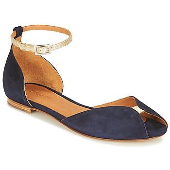 Schoenen Dames Sandalen / Open schoenen Emma Go JULIETTE Marine / Goud