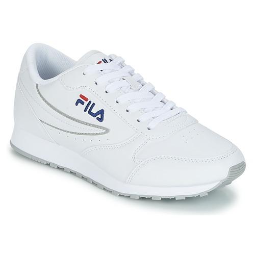 Schoenen Dames Lage sneakers Fila ORBIT LOW WMN Wit