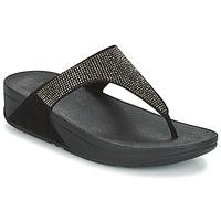 Schoenen Dames Slippers FitFlop SLINKY ROKKIT Zwart