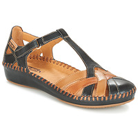 Schoenen Dames Sandalen / Open schoenen Pikolinos P. VALLARTA 655 Marine /  camel