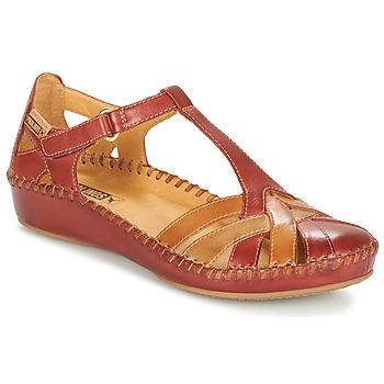 Schoenen Dames Sandalen / Open schoenen Pikolinos P. VALLARTA 655 Brown