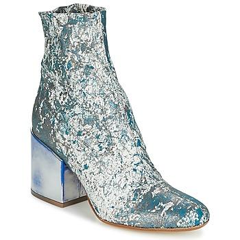 Schoenen Dames Enkellaarzen Now LUNA Blauw