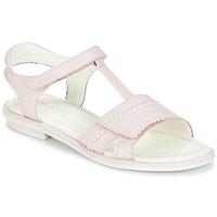 Schoenen Meisjes Sandalen / Open schoenen Geox J S.GIGLIO A Roze