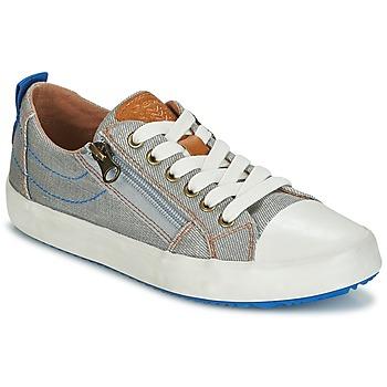 Schoenen Jongens Lage sneakers Geox J ALONISSO B. D Grijs / Blauw