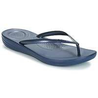 Schoenen Dames Slippers FitFlop IQUSHION ERGONOMIC FLIP-FLOPS Blauw