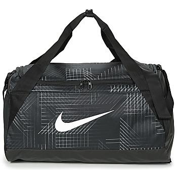 Tassen Sporttas Nike BRASILIA SMALL Zwart / Wit