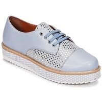 Schoenen Dames Derby Cristofoli FILIPY Blauw