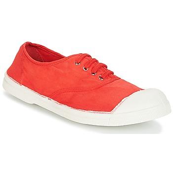 Schoenen Dames Lage sneakers Bensimon TENNIS LACET Rood