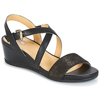Schoenen Dames Sandalen / Open schoenen Geox MARYKARMEN A Zwart