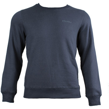 Textiel Heren Sweaters / Sweatshirts Lotto First II Sweat FL Blauw