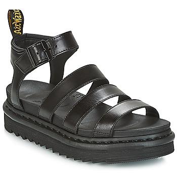 Schoenen Dames Sandalen / Open schoenen Dr Martens BLAIRE Zwart