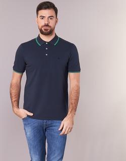 Textiel Heren Polo's korte mouwen Benetton MADURI Marine