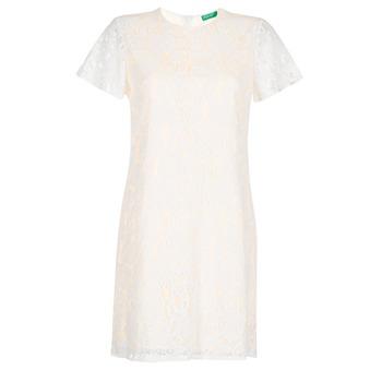 Textiel Dames Korte jurken Benetton PRISTOUC Blauw