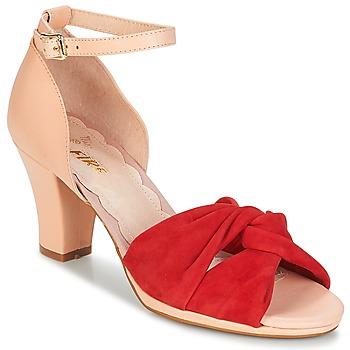 Schoenen Dames Sandalen / Open schoenen Miss L'Fire EVIE Rood / Roze