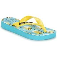 Schoenen Jongens Slippers Havaianas MINIONS Blauw / Geel
