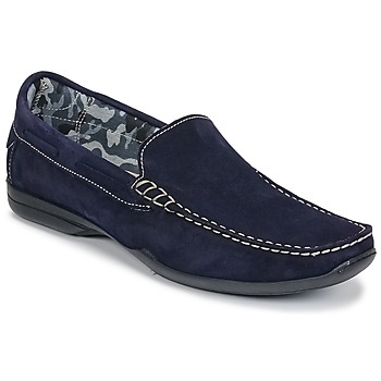 Schoenen Heren Mocassins So Size ELIJA Marine