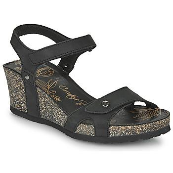 Schoenen Dames Sandalen / Open schoenen Panama Jack JULIA Zwart