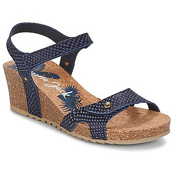 Schoenen Dames Sandalen / Open schoenen Panama Jack JULIA Marine