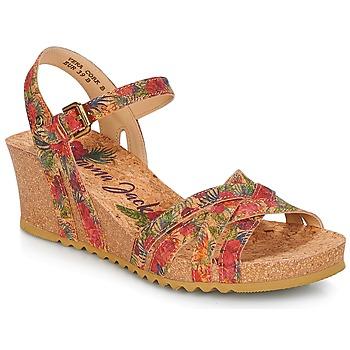 Schoenen Dames Sandalen / Open schoenen Panama Jack VERA Rood