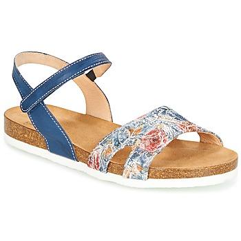 Schoenen Dames Sandalen / Open schoenen Think ZIFUDEKE Blauw