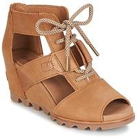 Schoenen Dames Sandalen / Open schoenen Sorel JOANIE™ LACE Brown
