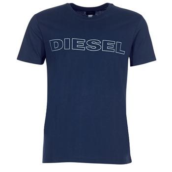 Textiel Heren T-shirts korte mouwen Diesel JAKE Marine