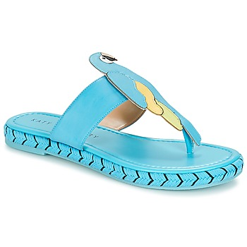 Schoenen Dames Slippers Katy Perry THE YASUNI Blauw