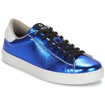 Schoenen Dames Lage sneakers Victoria DEPORTIVO METALIZADO Blauw