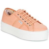 Schoenen Dames Lage sneakers Victoria BLUCHER LONA PLATAFORMA Orange