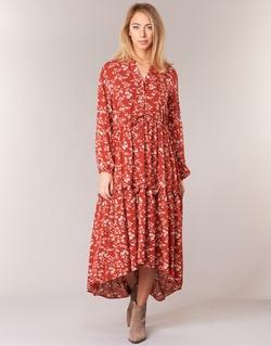 Textiel Dames Lange jurken Betty London HALETTE Rood