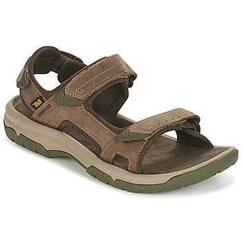 Schoenen Heren Sandalen / Open schoenen Teva LANGDON SANDAL Brown