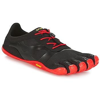 Schoenen Heren Running / trail Vibram Fivefingers KSO EVO Zwart / Rood
