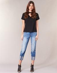 Textiel Dames ¾ jeans & 7/8 jeans G-Star Raw LANC 3D HIGH STRAIGHT 11ozsena