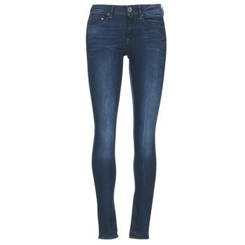 Textiel Dames Skinny Jeans G-Star Raw MIDGE ZIP MID SKINNY Neutro