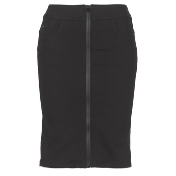 Textiel Dames Rokken G-Star Raw LYNN LUNAR HIGH SLIM SKIRT Zwart