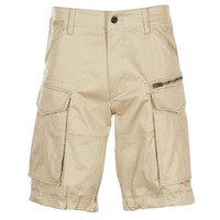 Textiel Heren Korte broeken / Bermuda's G-Star Raw ROVIC ZIP LOOSE 1/2 Beige