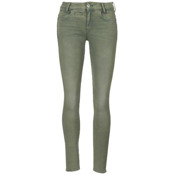Textiel Dames 5 zakken broeken G-Star Raw D-STAQ 5-PKT MID SKINNY COJ WMN Light / Hunter