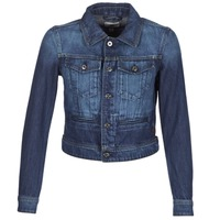 Textiel Dames Spijker jassen G-Star Raw D-STAQ S DC DNM JKT WMN Medium / Aged