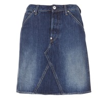 Textiel Dames Rokken G-Star Raw 5622 CUSTOM A-LINE SKIRT Blauw