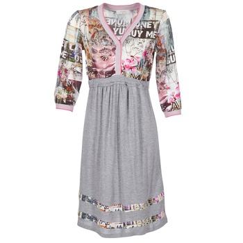 Textiel Dames Korte jurken Cream ZAIROCE Grijs