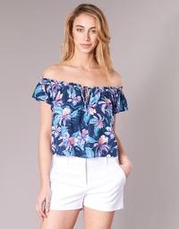 Textiel Dames Tops / Blousjes Rip Curl TROPIC TRIBE TOP Blauw
