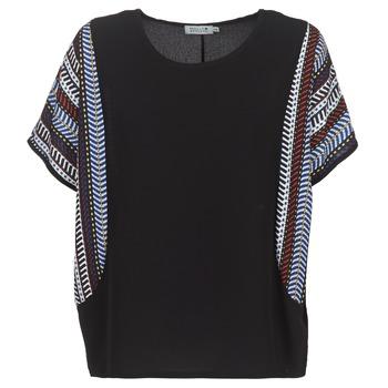 Textiel Dames Tops / Blousjes Molly Bracken VEVE Zwart